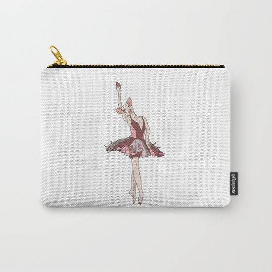 Pig Ballerina Tutu Carry-All Pouch