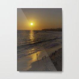 """""""Beach Walk"""" Laguna Beach Metal Print"""