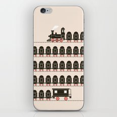 Stretched Out Locomotive  iPhone & iPod Skin