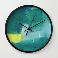 Water and color 8 Wall Clock