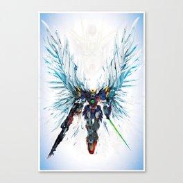 Winged Robot Canvas Print