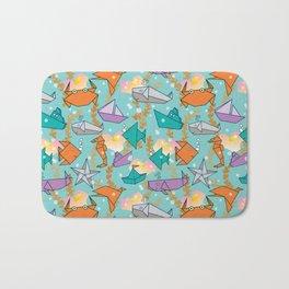 Origami Ocean Bath Mat