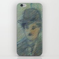 charlie iPhone & iPod Skins featuring Charlie by SliackyJo