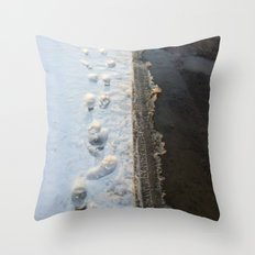 winter is gone? Throw Pillow