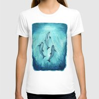 biology T-shirts featuring Song of the Vaquita  by Amber Marine