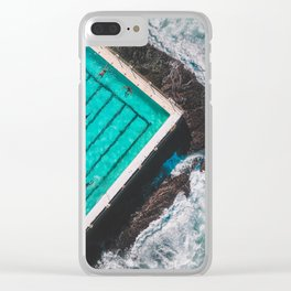 The Pool Clear iPhone Case
