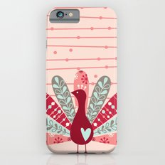 Garden Peacock iPhone 6 Slim Case