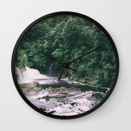 Wild Water Wall Clock