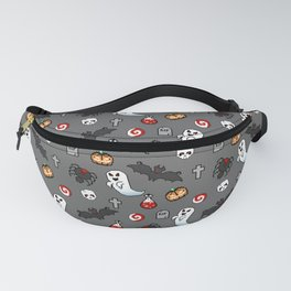 Pixelated Halloween Fanny Pack