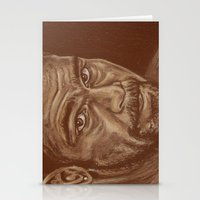 lucas david Stationery Cards featuring round 11..david haye by noblackcolor