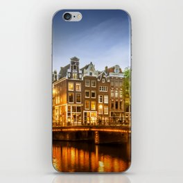 AMSTERDAM Idyllic impression from Singel iPhone Skin