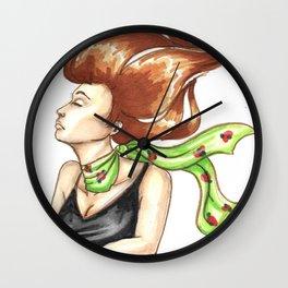 Flying or falling Wall Clock