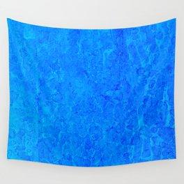 Blue Rain Wall Tapestry