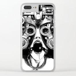 asc 712 - Le masque de la Méduse (Object woman) Clear iPhone Case