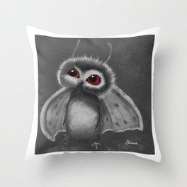 Mothbaby Throw Pillow