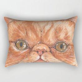 Betty aka The Snappy Cat- artist Ellie Hoult Rectangular Pillow