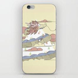 Dragon ride iPhone Skin