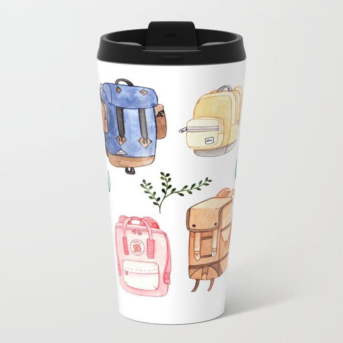 Backpacks Metal Travel Mug
