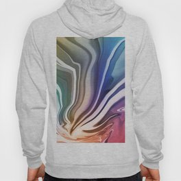 Colors and Flow Pattern Hoody