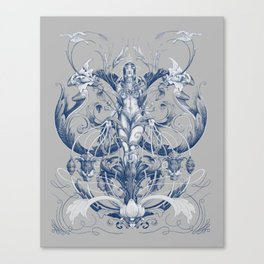 Queen of Trust Canvas Print