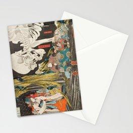 Takiyasha the Witch and the Skeleton Spectre, Utagawa Kuniyoshi, 1844 Stationery Cards