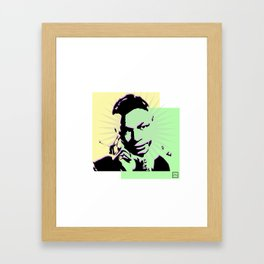 Nat King Cole Framed Art Print