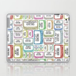 Tape Mix 2 Vintage Cassette Music Collection Laptop & iPad Skin