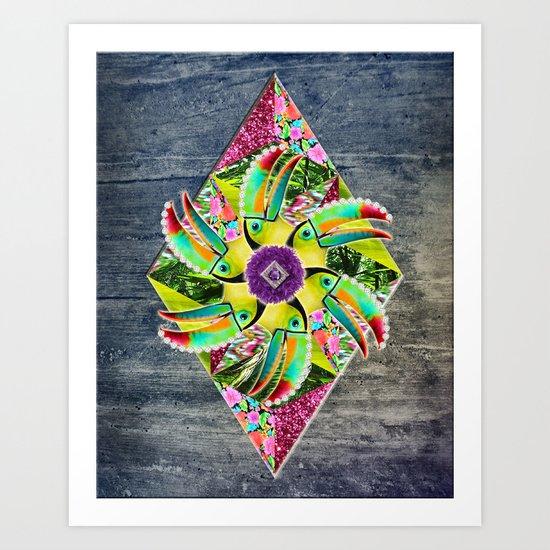 ▲ KAHOOLAWE ▲ Art Print