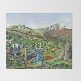 Prelude To Powys Throw Blanket
