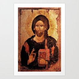 Jesus Christ Pantocrator Art Print