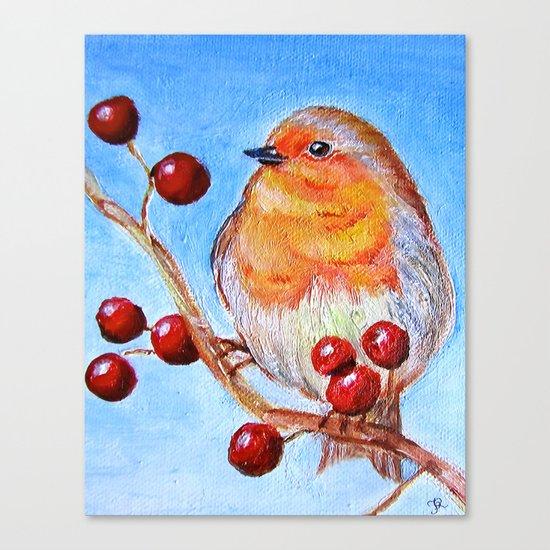 Robin Redbreast Canvas Print