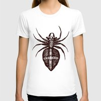 spider T-shirts featuring Spider by Bwiselizzy