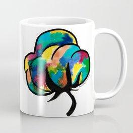 Colorful Cotton Boll Coffee Mug