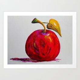 Kaleidoscope Apple or APPLE FOR THE TEACHER Art Print