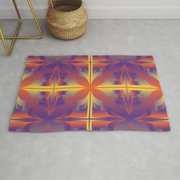 colorful abstract art 10 Rug