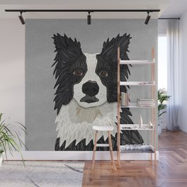 Beautiful Border Collie Wall Mural
