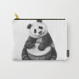 Panda playing percussion G140 Carry-All Pouch