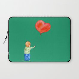 With All my Heart Laptop Sleeve