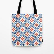 Mediterranean Mosaic Tote Bag
