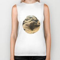 sand Biker Tanks featuring Sand by Ethan Bierly