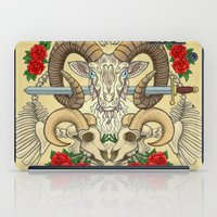aries iPad Cases featuring Aries by StudioBlueRoom