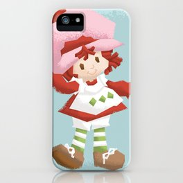 Strawberry Shortcake iPhone Case