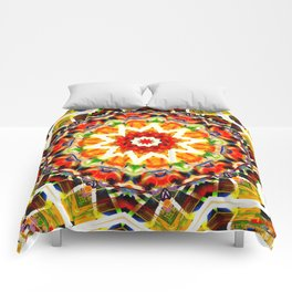 Never Forget colour wheel Comforters