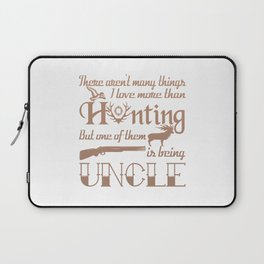 Hunting Uncle Laptop Sleeve
