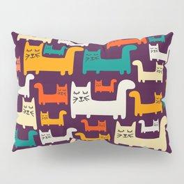 City Of Kitties Pattern Pillow Sham