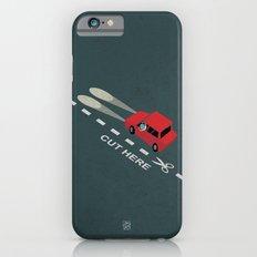 Livin' on the edge iPhone 6s Slim Case