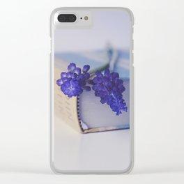 Muscari Clear iPhone Case
