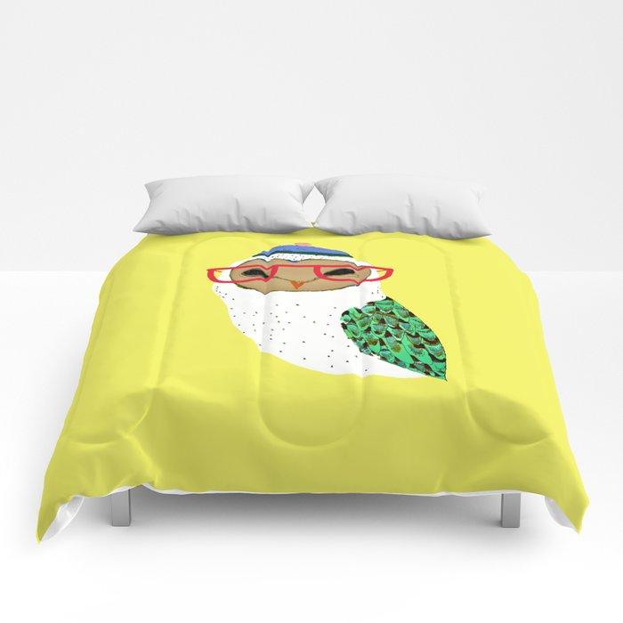 I Love Owls Comforters