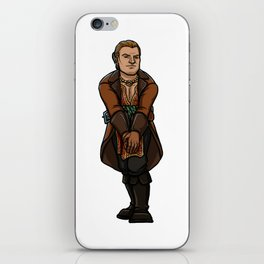 Strong female pose - Varric iPhone Skin