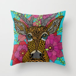 Steve the Stag ;) Throw Pillow